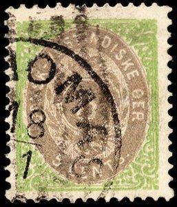 Danish West Indies Scott 8 Used.