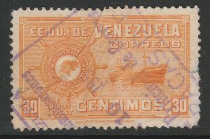 Venezuela 1948-50 30c used South America A4P53F60