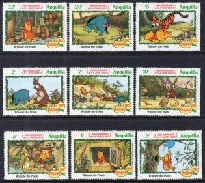 Anguilla 511-519 Disney's MNH VF