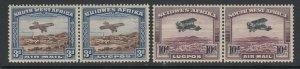 South West Africa, Scott C5-C6 (SG 86-87), MLH