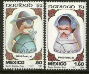 MEXICO 1252-1253 Christmas Holidays MINT, NH. VF.