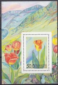 1993 Uzbekistan 41/B2 Flowers