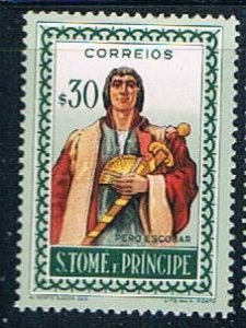 St Thomas and Prince person - pickastamp (SP19R301)