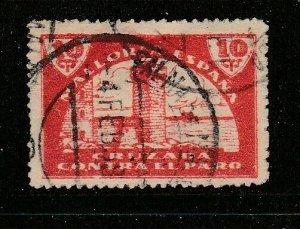 Spain 1939 MALLORCA 10c Red. Spanish Civil War Used