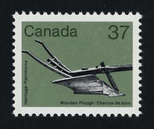 Canada 927 MNH Wooden Plough