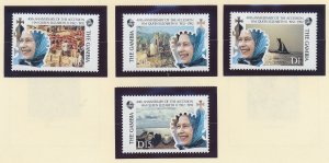 Gambia Stamps Scott #1172 To 1175, Mint Never Hinged - Free U.S. Shipping, Fr...