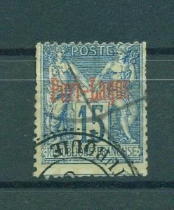 France Offices-Turkey-Port Lagos sc# 3 used cat val $67.50