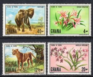 Ghana 402-405 MNH VF