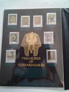 Central African Empire - Treasures of Tutankhamun - (1623)