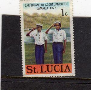 St Lucia  Scout Jamboree Used