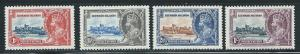 Leeward Islands 96-99 1935 Silver Jubilee set MLH