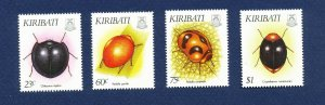 KIRIBATI - Scott 607-610 - FVF MNH - Insects - 1993