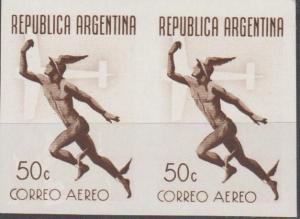 Argentina #C50 MNH F-VF Imperf Pair (SU338)