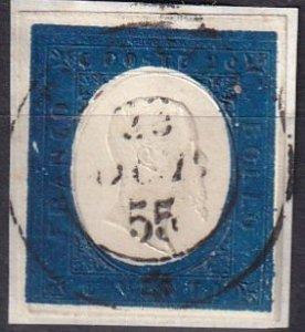 Sardinia #8  F-VF Used   CV $210.00  (Z1246)