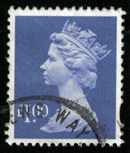 1995, Queen Elizabeth II, £1.00, YT #1831 (T-4747)