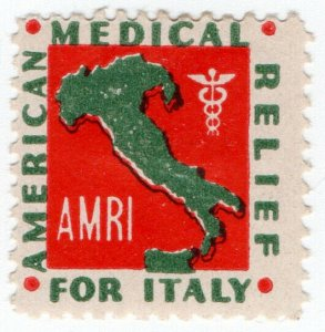 (I.B) US Cinderella : American Medical Relief For Italy