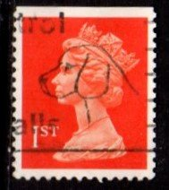 Great Britain - #MH188 Machin Queen Elizabeth II (Litho perf 14) - Used