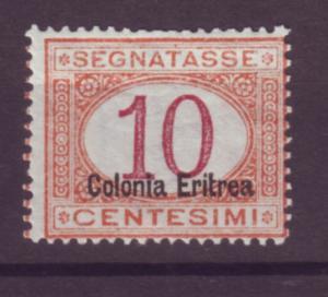 J21251 Jlstamps 1920 eritrea mh #j2a ovpt