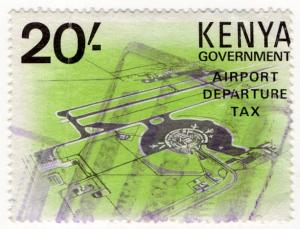 (I.B) KUT Revenue : Kenya Airport Departure Tax 20/-