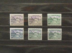 5429   Bangladesh   MNH # 135a,135a,135C,136a,138a,138a   CV$ 14.50