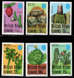 British Virgin Islands  Scott 350-355 MNH** set