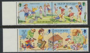 Isle of Man - SG 416a-418a SC# 396a-398a MUH se-tenant pairs Europa Children ...