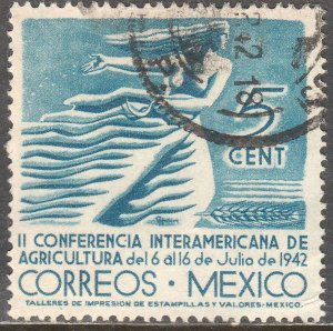 MEXICO 778, 5¢ Agricultural Conference. Used. F-VF. (738)