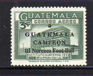 Guatemala C360 Set MNH Social Security Institute, Soccer (E)
