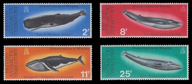 British Antarctic Territory 64 - 67 MNH