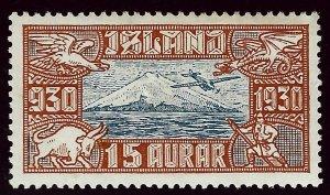 Iceland SC C4 Mint VF SCV$30.00...Worth a Close look!!