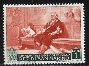 San Marino 1952 Scott# 308 MH