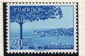 Turkey 1958-60 Early Issue Fine Mint Hinged 20p. NW-17382