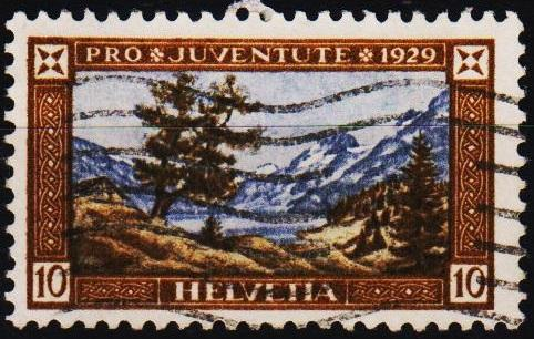 Switzerland.1929 10c S.G.J49 Fine Used