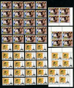 Vietnam Stamps # 349-50 XF Lot of 30 OG NH Scott Value $97.50