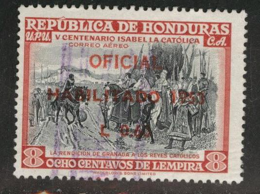 Honduras  Scott C218 airmail stamp
