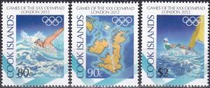 Cook Islands #1413-5  MNH CV $6.00  (K2136)
