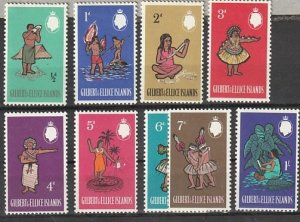 #89-9 Gilbert & Ellice Island Mint OGLH