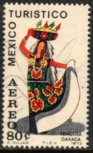 MEXICO C357, TOURISM PROMOTION, OAXACA, TEHUANA. MINT, NH. VF