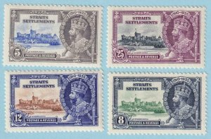STRAITS SETTLEMENTS 213 - 216  MINT HINGED OG * NO FAULTS EXTRA FINE! - Y320