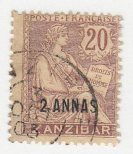 France-Offices in Zanzibar - 1902 - SC 42 - Used