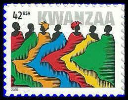 PCBstamps  US #4373 42c Kwanzaa, 2008, MNH, (6)