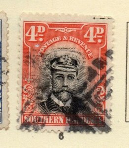 Southern Rhodesia 1920s Early Issue Fine Used 4d. NW-170458