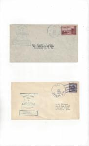 US Navy USS Flying Fish SS 229  4 covers  Navy Day 1946