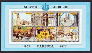 Barbuda Silver Jubilee MS SG#MS304