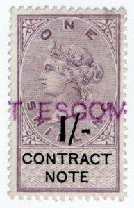 (I.B) QV Revenue : Contract Note 1/-