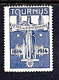 Cinderella France Tournus Centenary 1814 1914