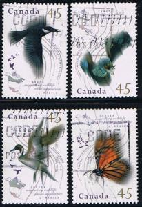 Canada #1563-6 Migratory Wildlife VF Used Set