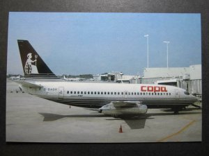 10111 Aviation Postcard COPA PANAMA Airlines BOEING 737-204