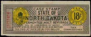 U.S. ND ST. REVS B51  Mint (ID # 29059)