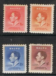 NAURU 1937 CORONATION OF KING GEORGE VI
